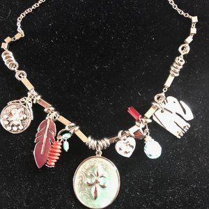 """Charming """"charms"""" necklace"""